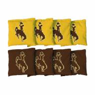 Wyoming Cowboys Cornhole Bag Set