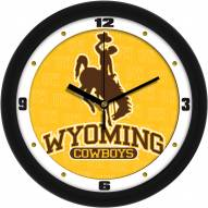 Wyoming Cowboys Dimension Wall Clock