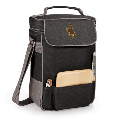 Wyoming Cowboys Duet Insulated Wine Bag