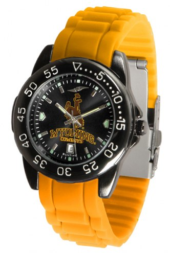Wyoming Cowboys Fantom Sport Silicone Men's Watch