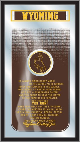 Wyoming Cowboys Fight Song Mirror