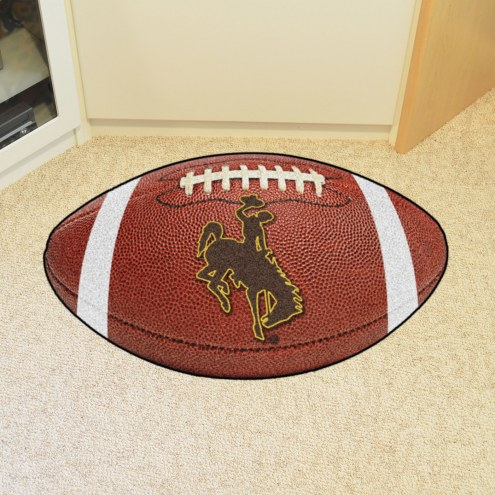 Wyoming Cowboys Football Floor Mat