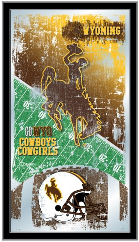 Wyoming Cowboys Football Mirror