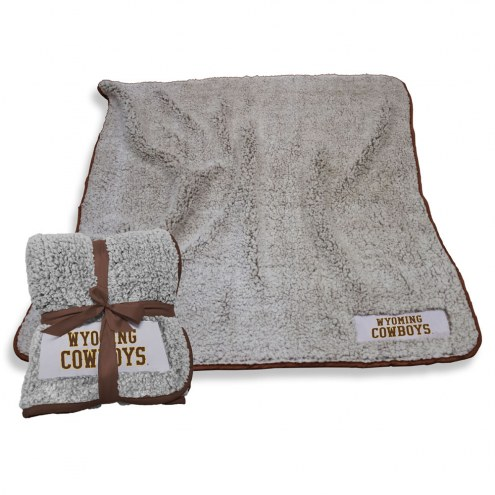 Wyoming Cowboys Frosty Fleece Blanket