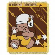 Wyoming Cowboys Fullback Baby Blanket