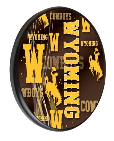 Wyoming Cowboys Digitally Printed Wood Sign