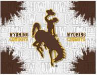 Wyoming Cowboys Logo Canvas Print