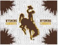 Wyoming Cowboys Logo Canvas Print