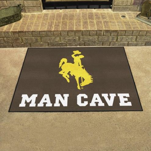 Wyoming Cowboys Man Cave All-Star Rug