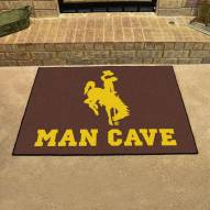 Wyoming Cowboys Man Cave All-Star Rug