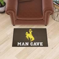 Wyoming Cowboys Man Cave Starter Mat