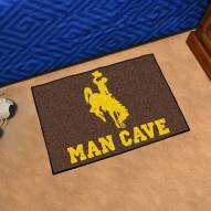 Wyoming Cowboys Man Cave Starter Mat