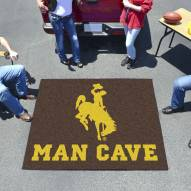 Wyoming Cowboys Man Cave Tailgate Mat