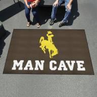Wyoming Cowboys Man Cave Ulti-Mat Rug