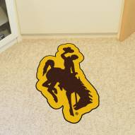 Wyoming Cowboys Mascot Mat