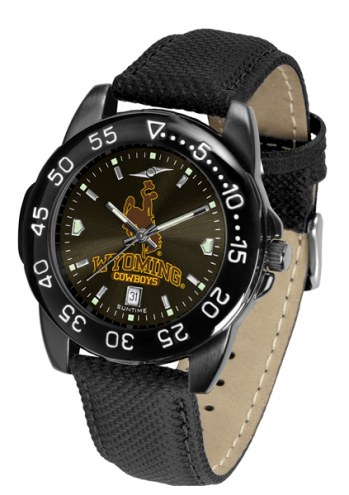 Wyoming Cowboys Men's Fantom Bandit AnoChrome Watch