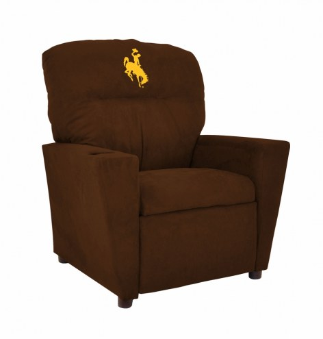 Wyoming Cowboys Microfiber Kid's Recliner