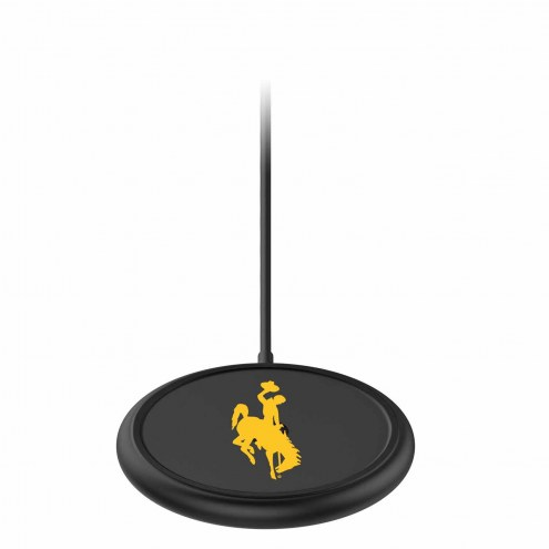 Wyoming Cowboys mophie Charge Stream Pad+ Wireless Charging Base
