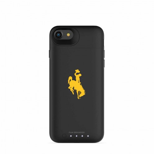 Wyoming Cowboys mophie iPhone 8/7 Juice Pack Air Black Case