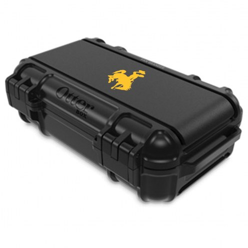 Wyoming Cowboys OtterBox Black Drybox Phone Holder