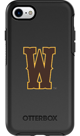 Wyoming Cowboys OtterBox iPhone 8/7 Symmetry Black Case