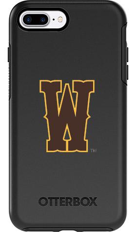 Wyoming Cowboys OtterBox iPhone 8 Plus/7 Plus Symmetry Black Case