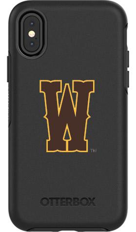 Wyoming Cowboys OtterBox iPhone X Symmetry Black Case