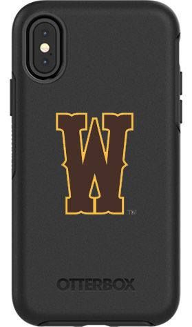 Wyoming Cowboys OtterBox iPhone X Symmetry Black Case