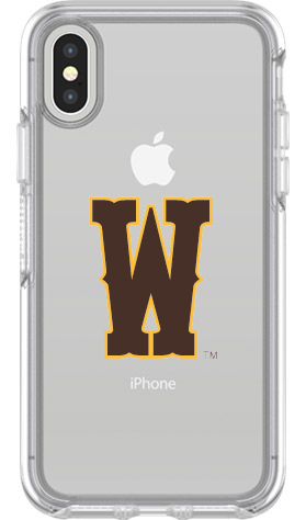 Wyoming Cowboys OtterBox iPhone X Symmetry Clear Case