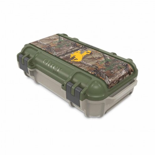 Wyoming Cowboys OtterBox Realtree Camo Drybox Phone Holder