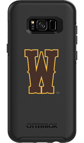 Wyoming Cowboys OtterBox Samsung Galaxy S8+ Symmetry Black Case