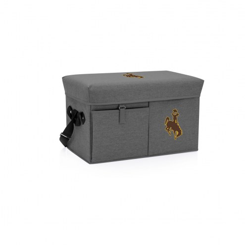 Wyoming Cowboys Ottoman Cooler & Seat