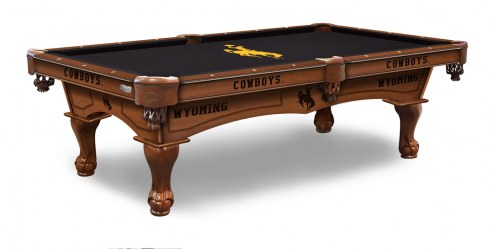 Wyoming Cowboys Pool Table