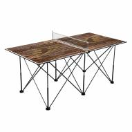 Wyoming Cowboys Pop Up 6' Ping Pong Table