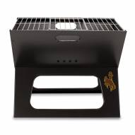 Wyoming Cowboys Portable Charcoal X-Grill