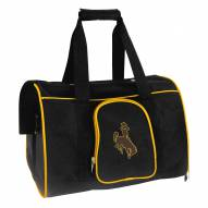 Wyoming Cowboys Premium Pet Carrier Bag