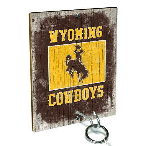 Wyoming Cowboys Ring Toss Game