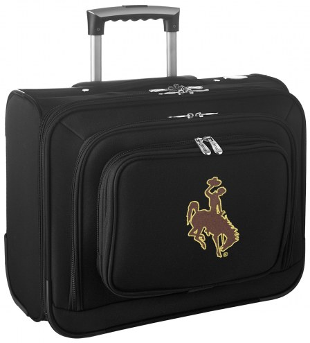 Wyoming Cowboys Rolling Laptop Overnighter Bag