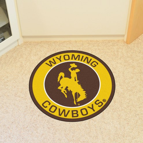 Wyoming Cowboys Rounded Mat