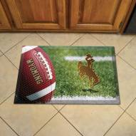 Wyoming Cowboys Scraper Door Mat