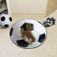 Wyoming Cowboys Soccer Ball Mat