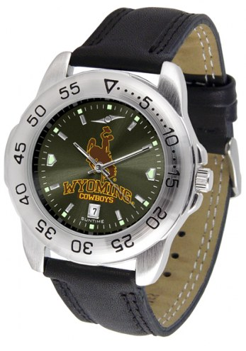 Wyoming Cowboys Sport AnoChrome Men's Watch