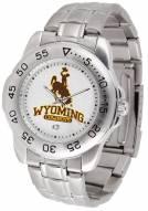Wyoming Cowboys Sport Steel Men's Watch
