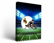 Wyoming Cowboys Stadium Canvas Wall Art