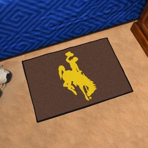Wyoming Cowboys Starter Rug
