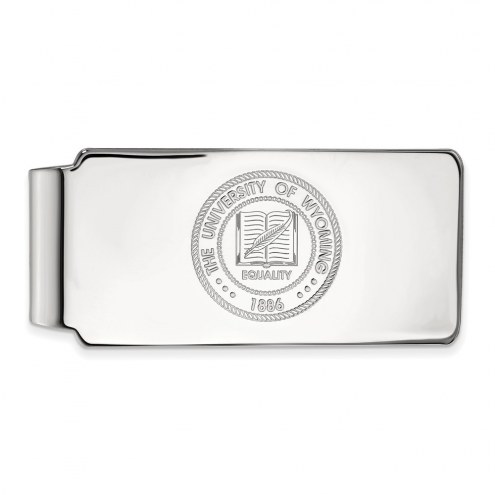 Wyoming Cowboys Sterling Silver Crest Money Clip