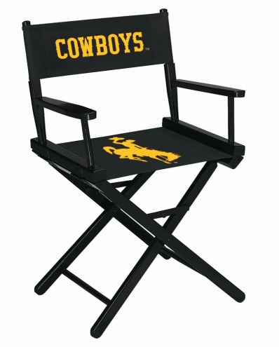 Wyoming Cowboys Table Height Director's Chair