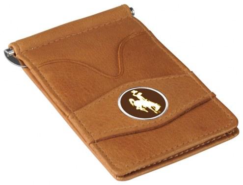 Wyoming Cowboys Tan Player's Wallet