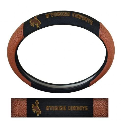 Wyoming Cowboys Steering Wheel Cover