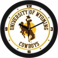 Wyoming Cowboys Traditional Wall Clock